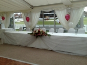 Head Table & Centre Pieces